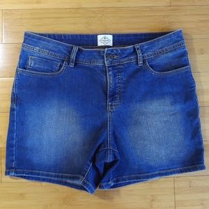 St. John's Bay Size 12 Denim Shorts